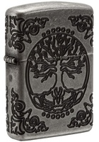 Зажигалка Zippo 29670 Armor™ Tree of Life Antique Silver