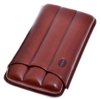 Футляр Jemar на 3 сигары 110-3-XL Brown