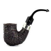 Курительная трубка Peterson House Pipe Rusticated Pub P-Lip 9мм
