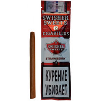 Сигариллы Swisher Sweets Strawberry Cigarillos